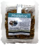 Dried mistletoe leaf